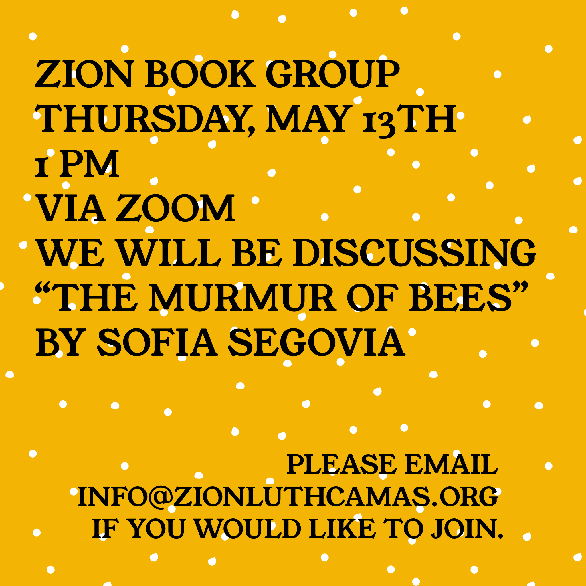 Book Group May 2021
